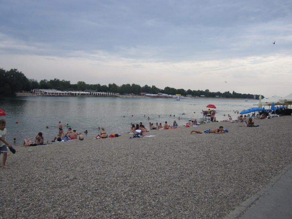 Пляж в Белграде