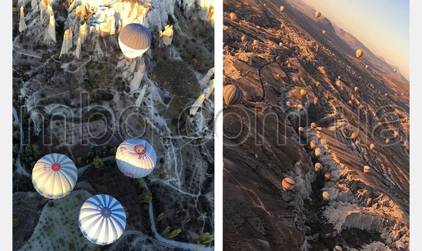 полет на шаре в каппадокии