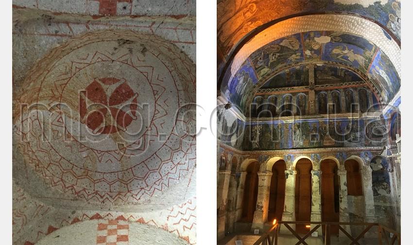 фрески в церквях каппадокии