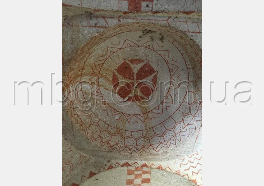 каппадокия, фреска раннего христианства