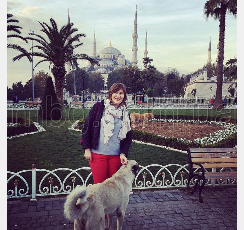 площадь султанахмет рано утром