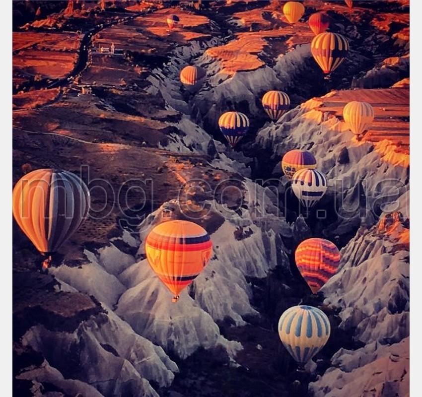 каппадокия, полет на воздушном шаре