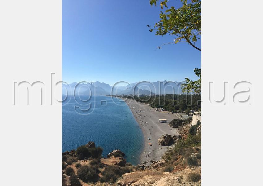 анталия, пляж коньяалты